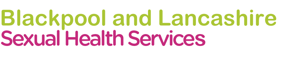 Lancashire Sexual Health logo and Blackpool Sexual health logo